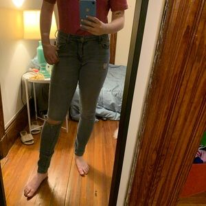 Old Navy Ripped Rockstar Midrise Jeans